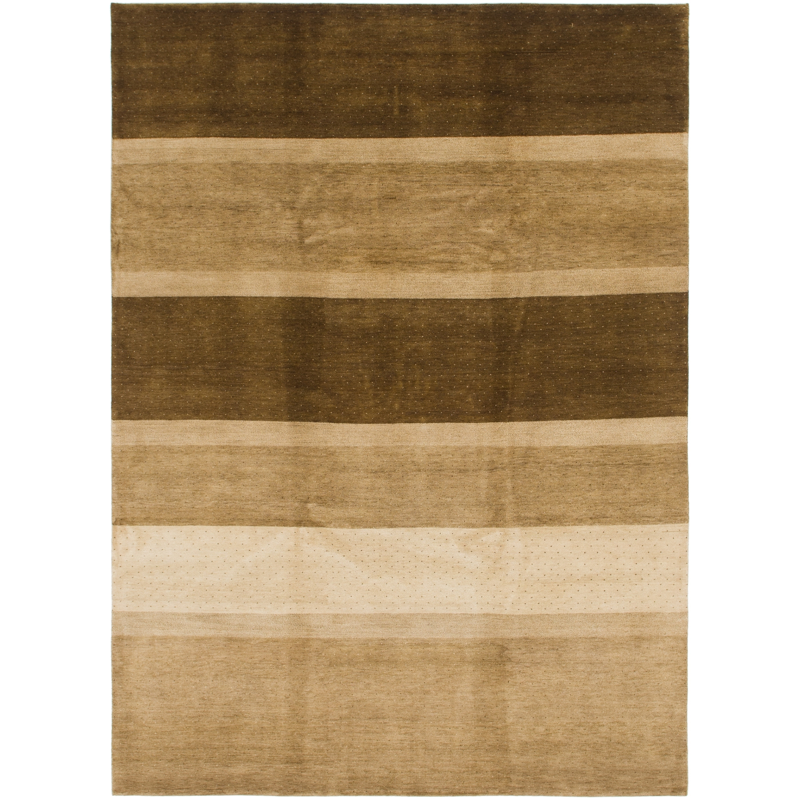 Hand Knotted Kashkuli Gabbeh Wool Area Rug - 8 2 x 11 3 (Beige - 8 2 x 11 3)