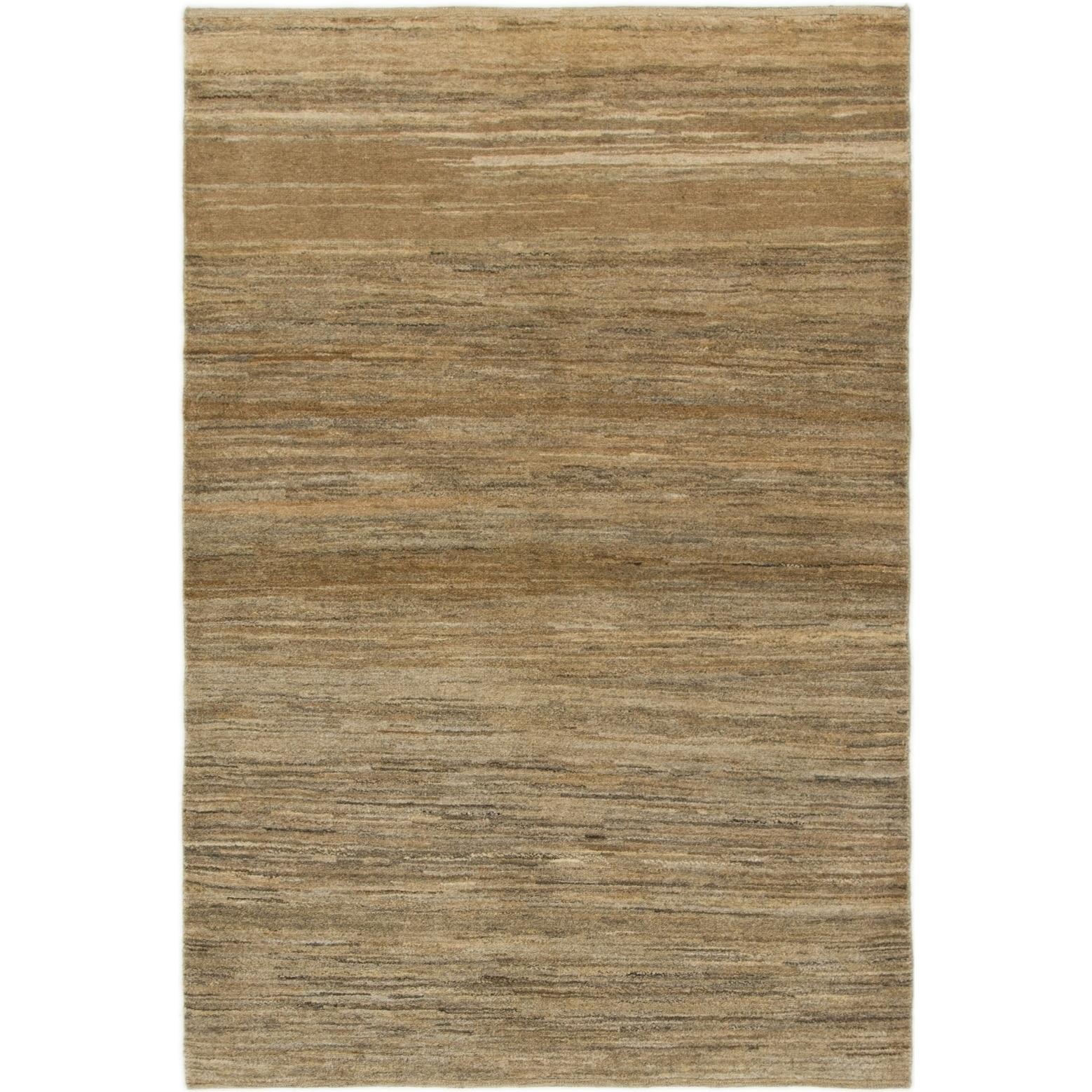 Hand Knotted Kashkuli Gabbeh Wool Area Rug - 4 x 5 10 (Brown - 4 x 5 10)