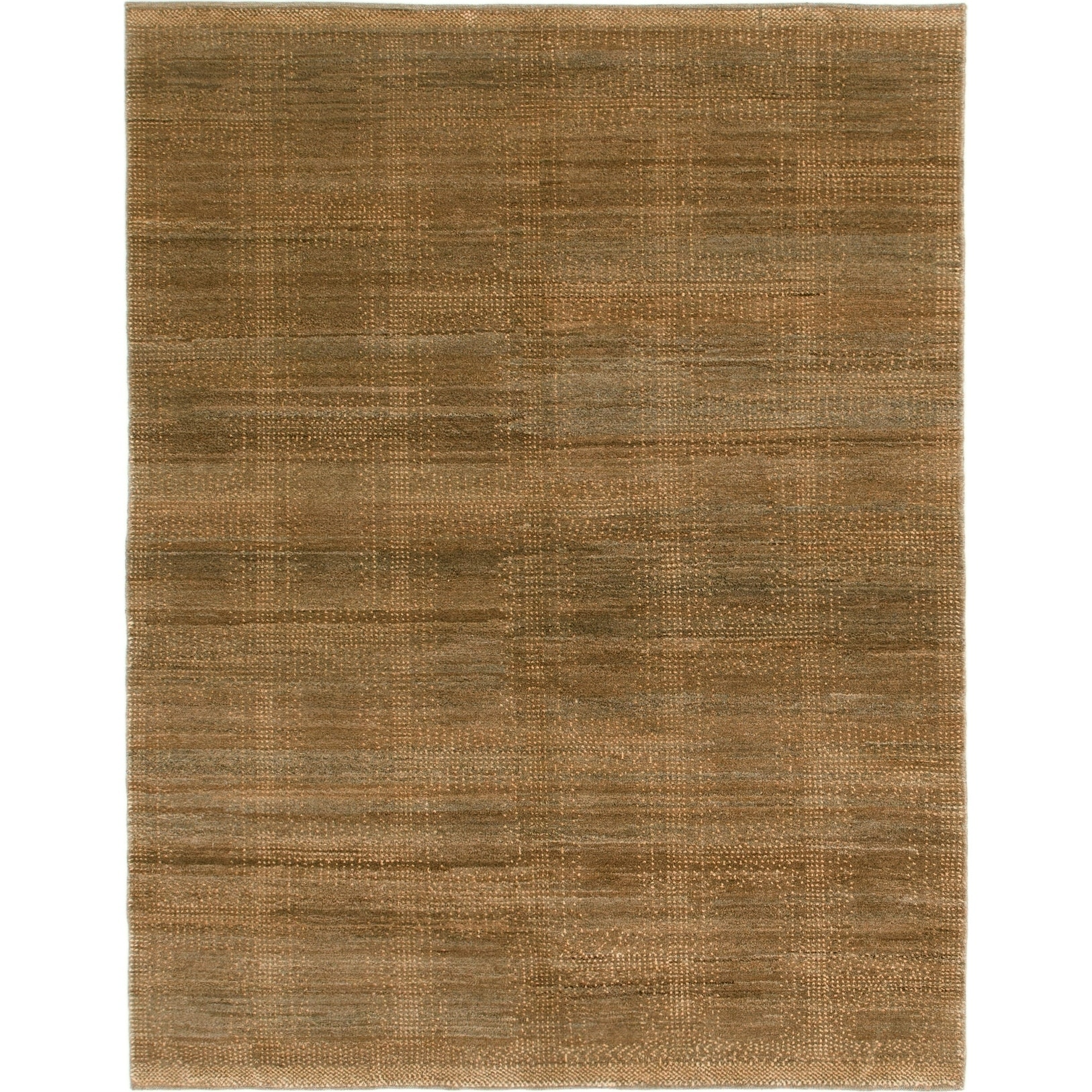 Hand Knotted Kashkuli Gabbeh Wool Area Rug - 5 x 6 4 (Brown - 5 x 6 4)