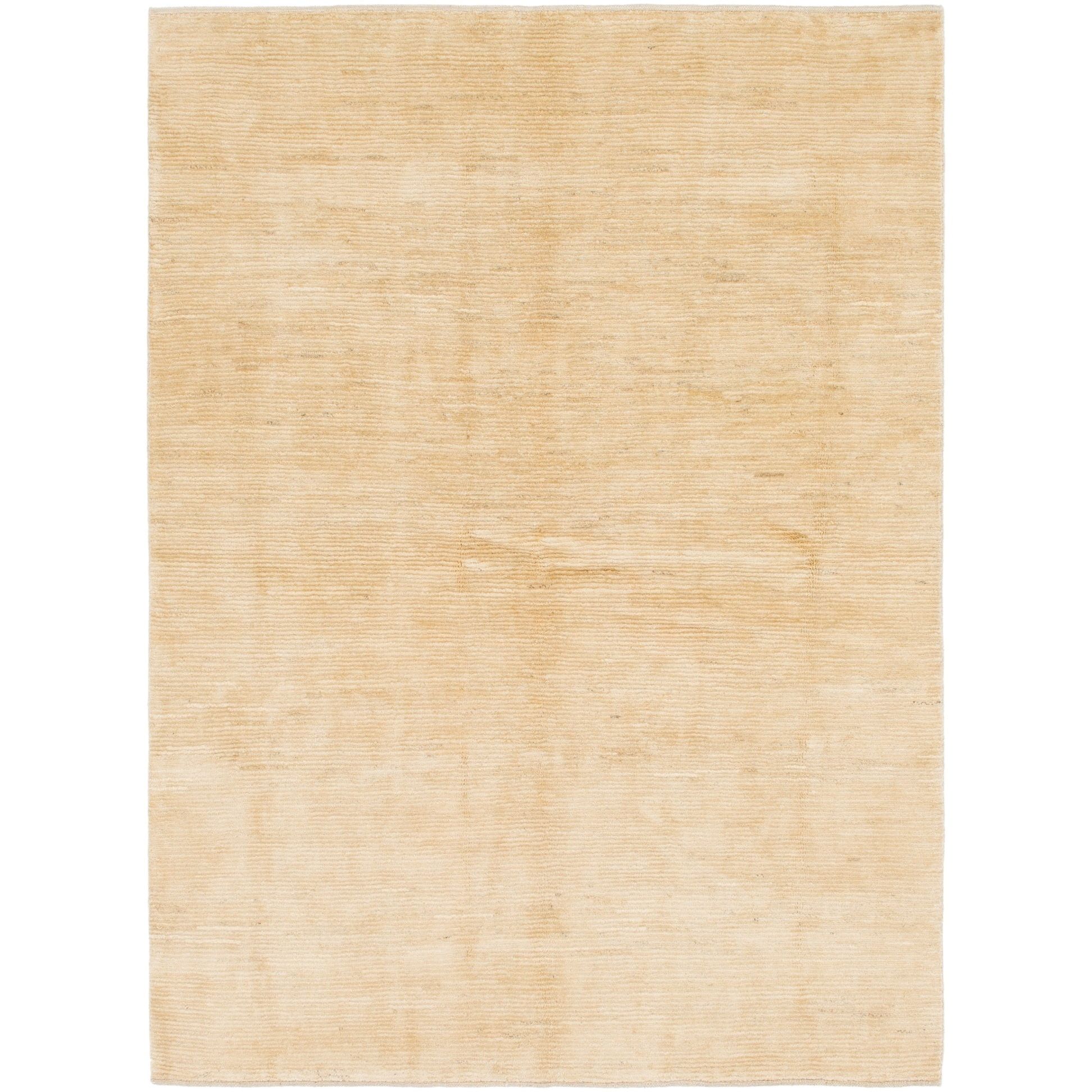 Hand Knotted Kashkuli Gabbeh Wool Area Rug - 5 7 x 7 7 (Cream - 5 7 x 7 7)