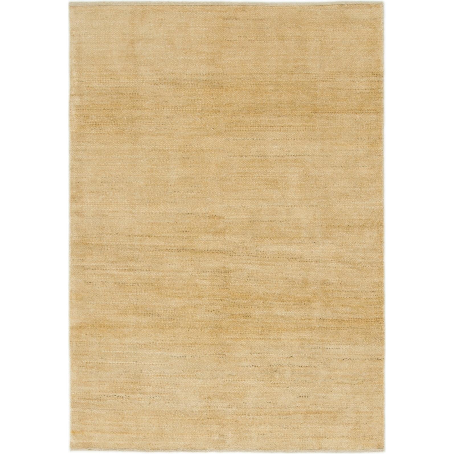 Hand Knotted Kashkuli Gabbeh Wool Area Rug - 4 1 x 5 10 (Beige - 4 1 x 5 10)