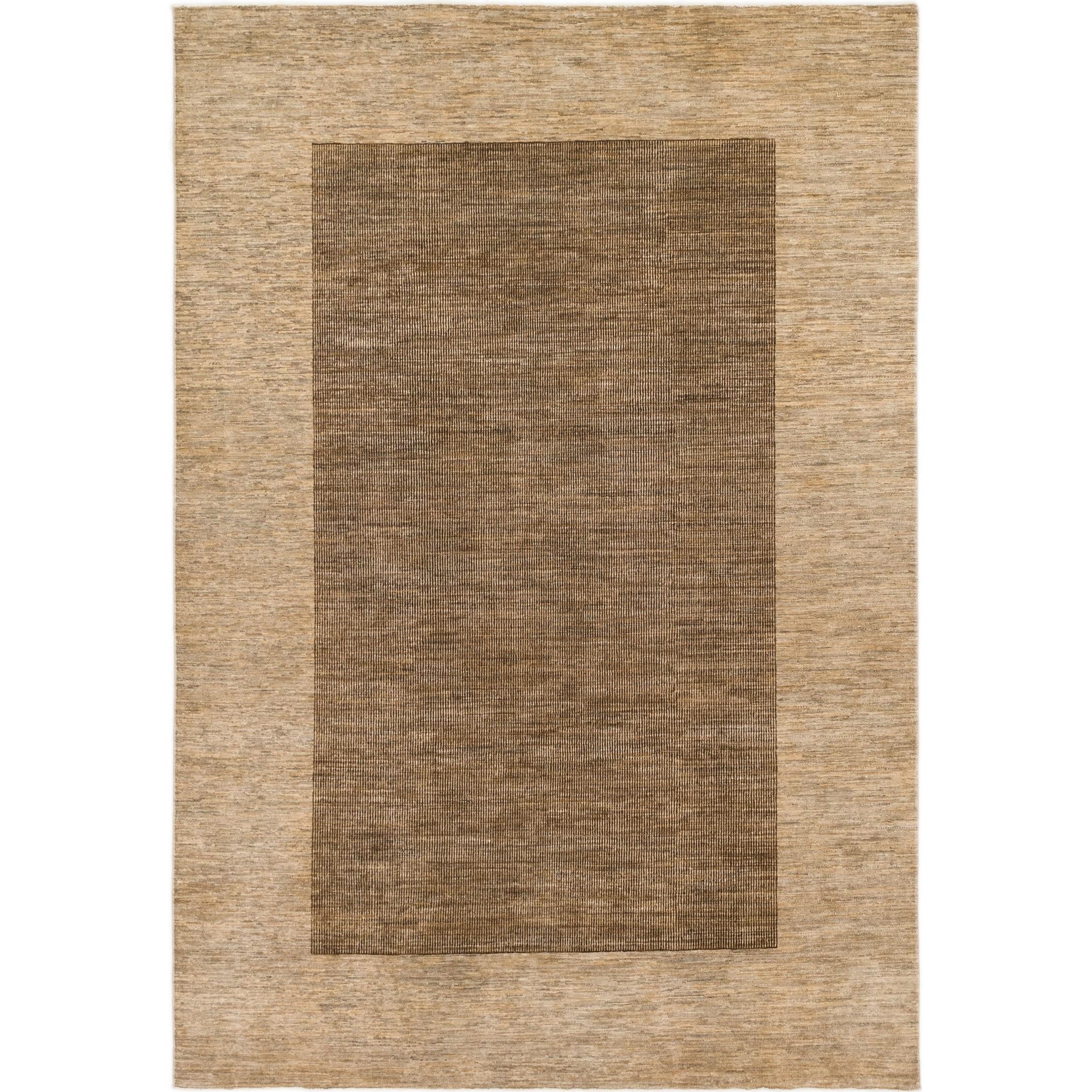 Hand Knotted Kashkuli Gabbeh Wool Area Rug - 6 5 x 9 6 (Brown - 6 5 x 9 6)