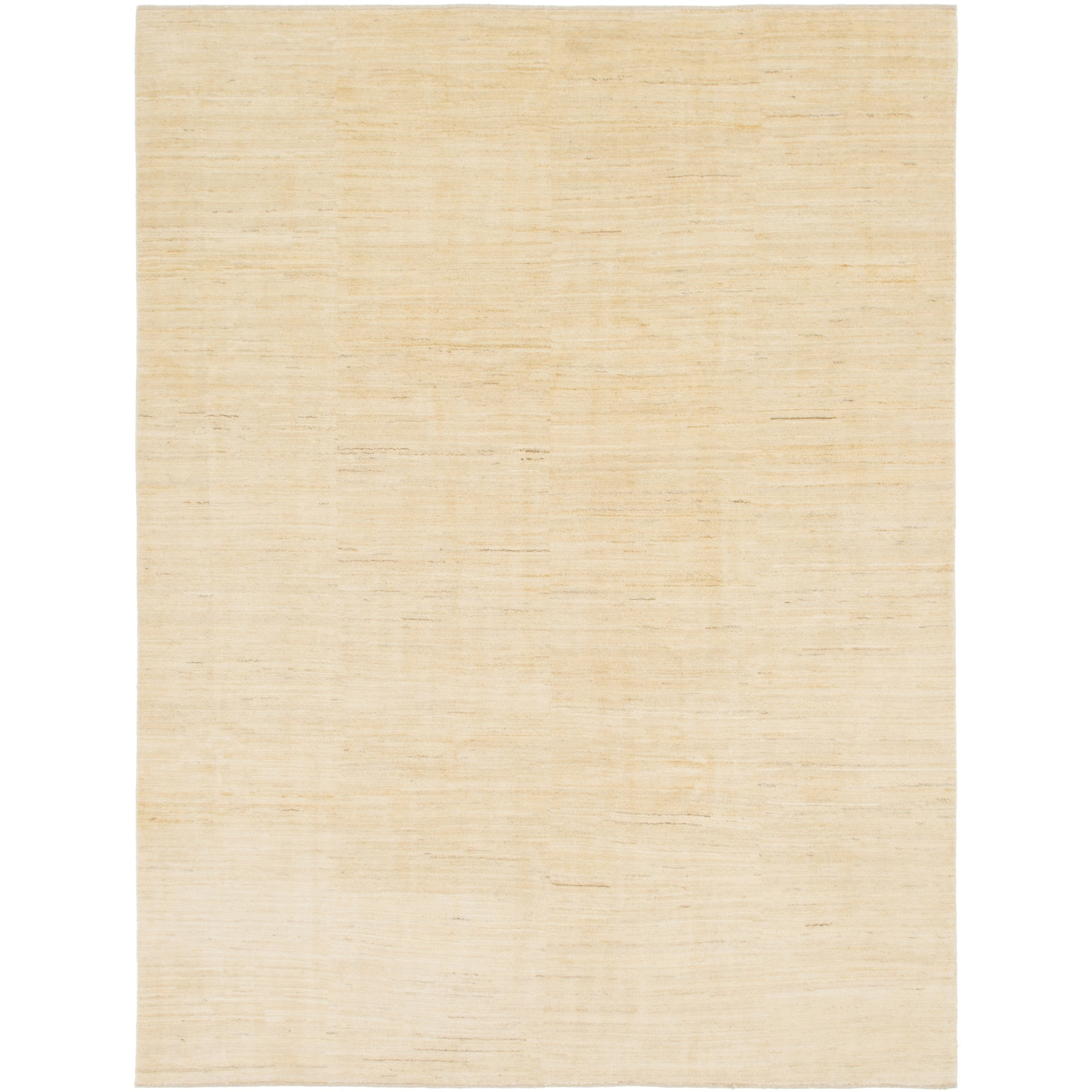 Hand Knotted Kashkuli Gabbeh Wool Area Rug - 8 4 x 10 10 (Cream - 8 4 x 10 10)