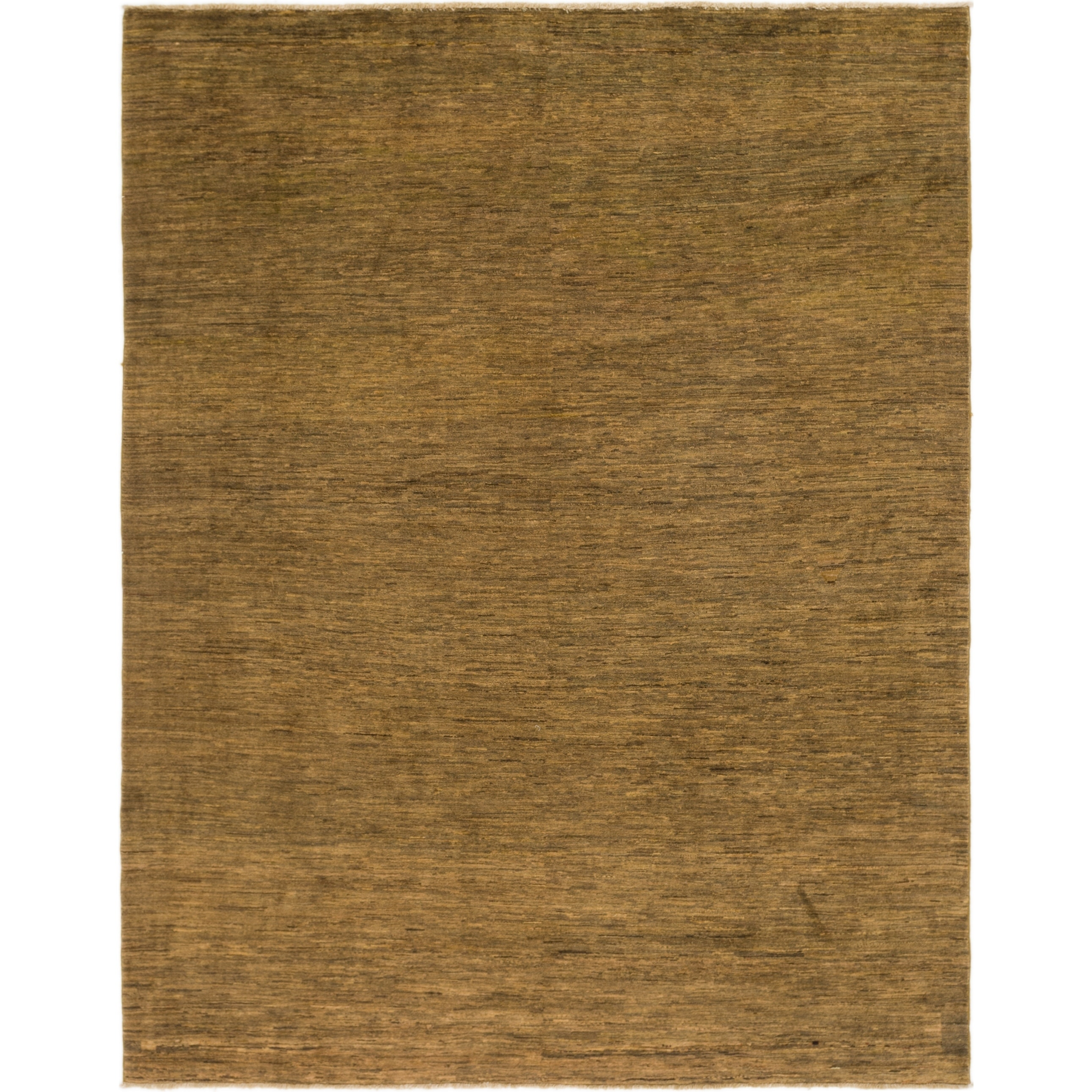 Hand Knotted Kashkuli Gabbeh Wool Area Rug - 7 9 x 10 (Brown - 7 9 x 10)