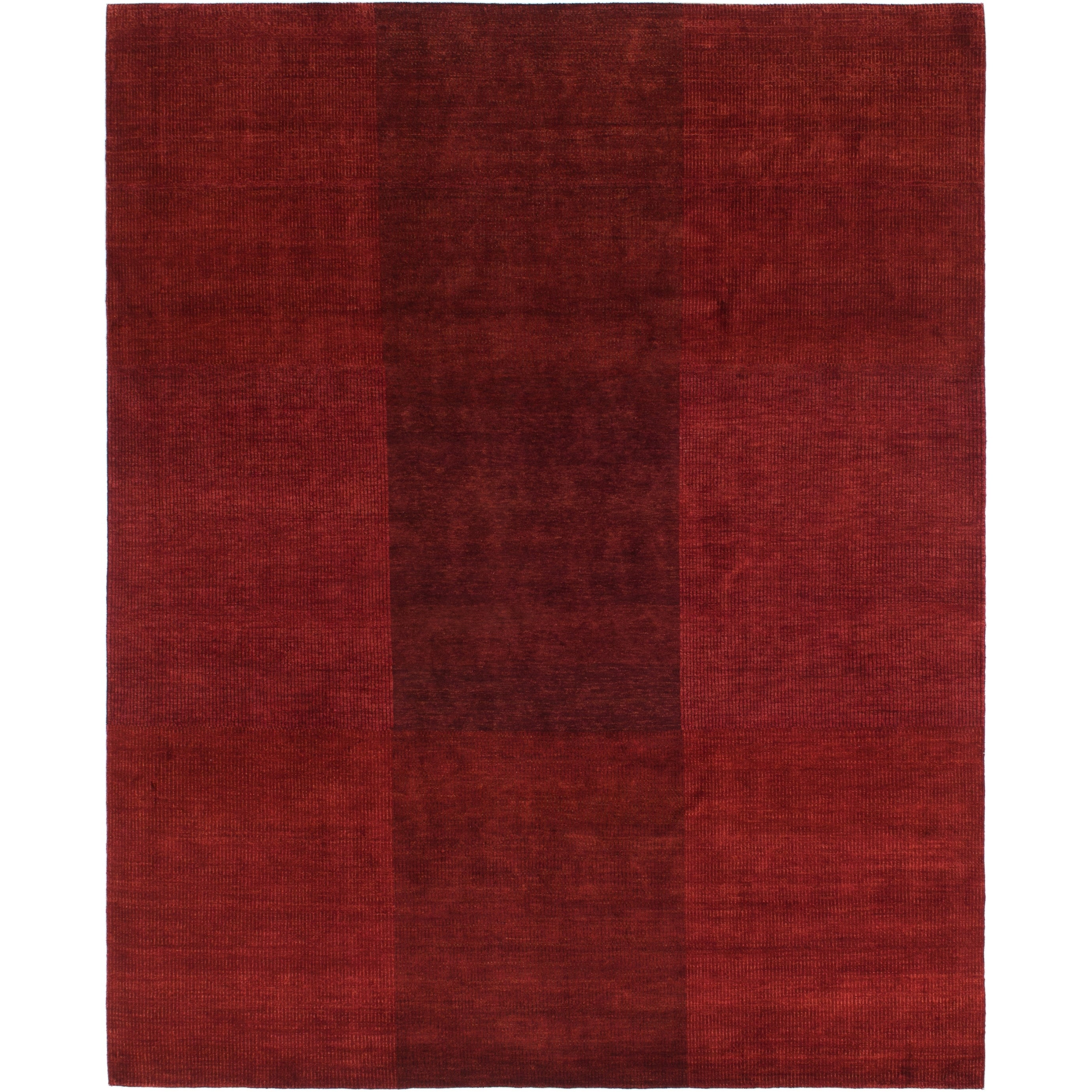 Hand Knotted Kashkuli Gabbeh Wool Area Rug - 8 2 x 10 (Burgundy - 8 2 x 10)