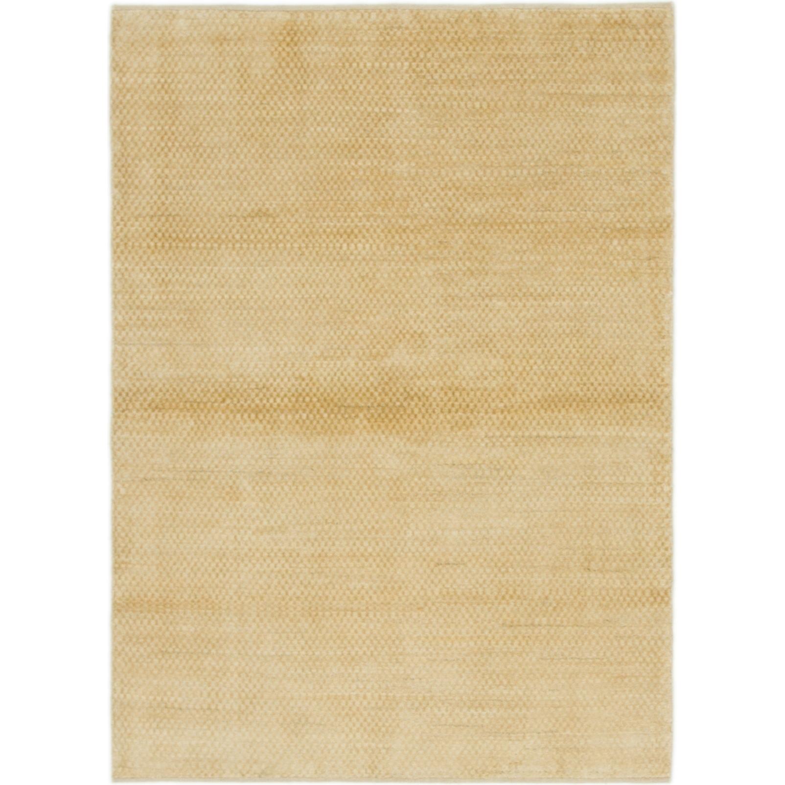 Hand Knotted Kashkuli Gabbeh Wool Area Rug - 4 1 x 5 8 (Ivory - 4 1 x 5 8)