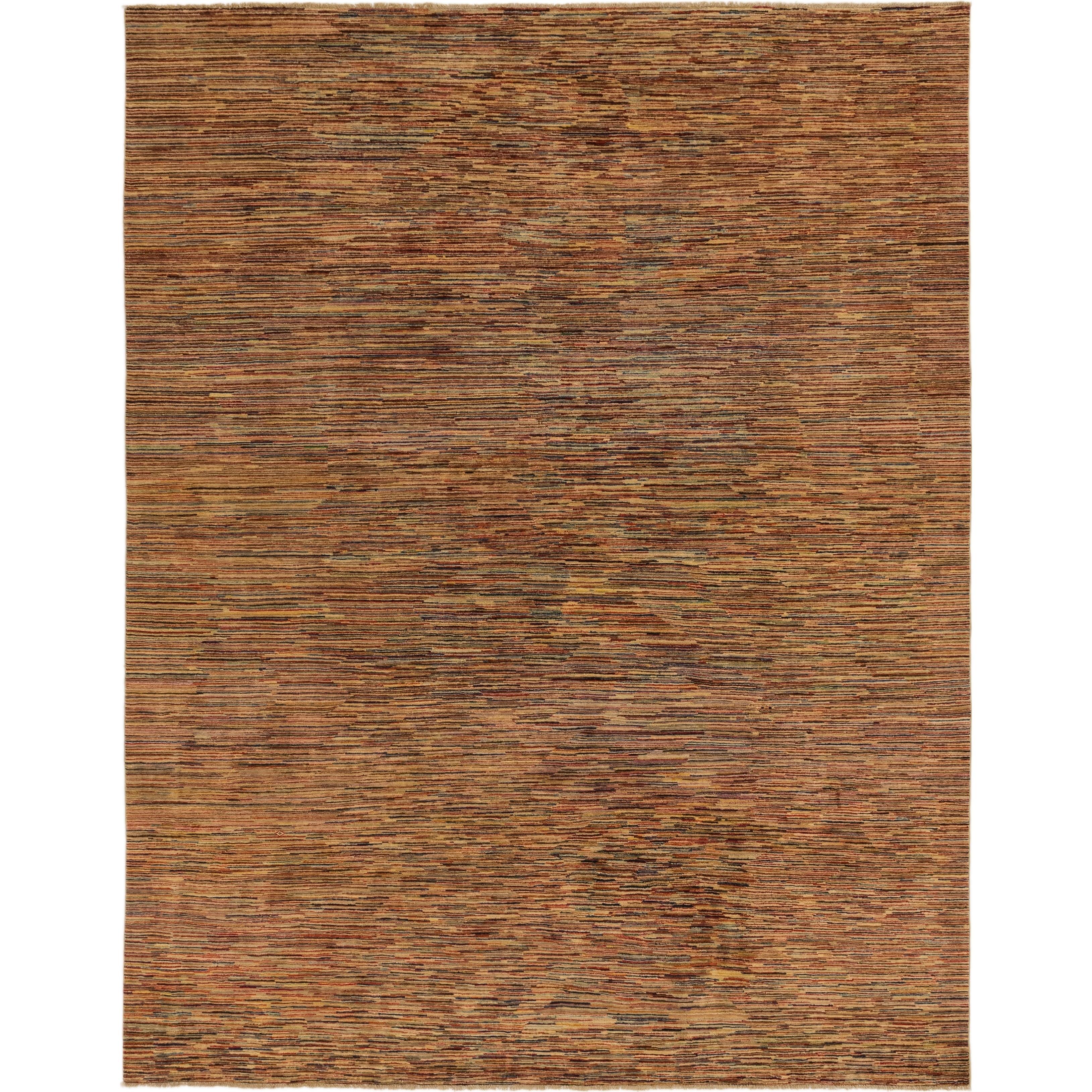 Hand Knotted Kashkuli Gabbeh Wool Area Rug - 9 6 x 12 8 (Multi - 9 6 x 12 8)