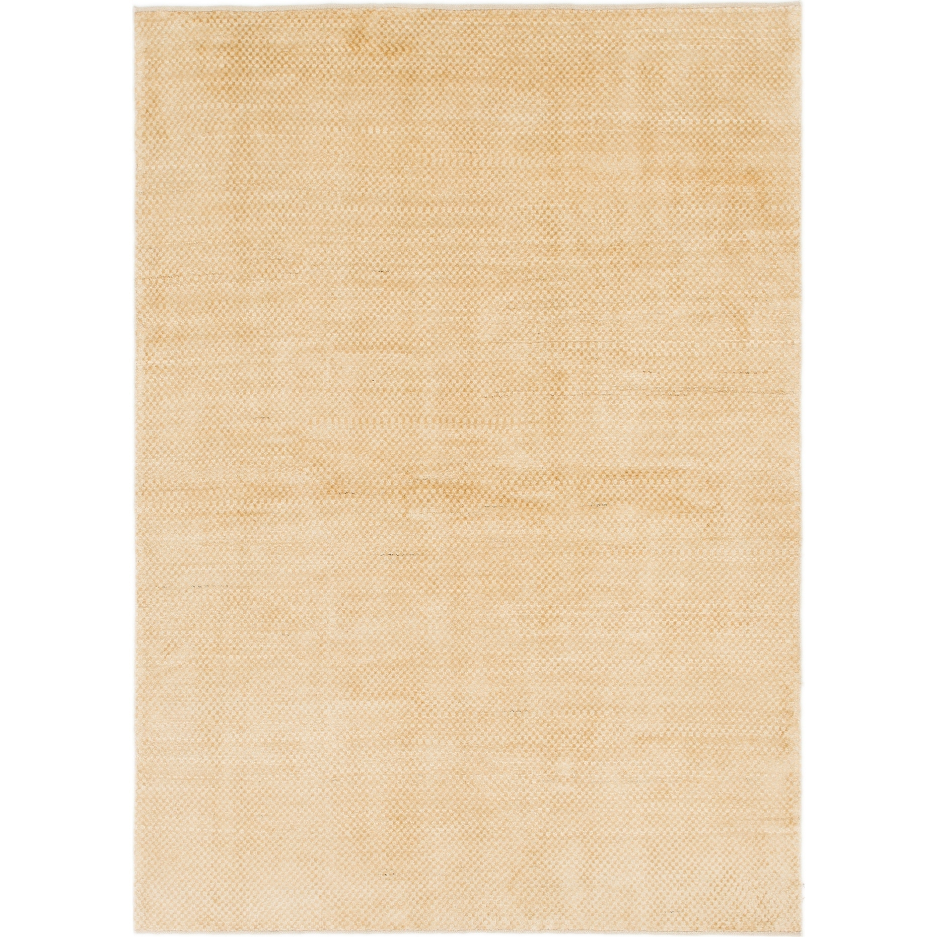 Hand Knotted Kashkuli Gabbeh Wool Area Rug - 5 7 x 7 9 (Gold - 5 7 x 7 9)