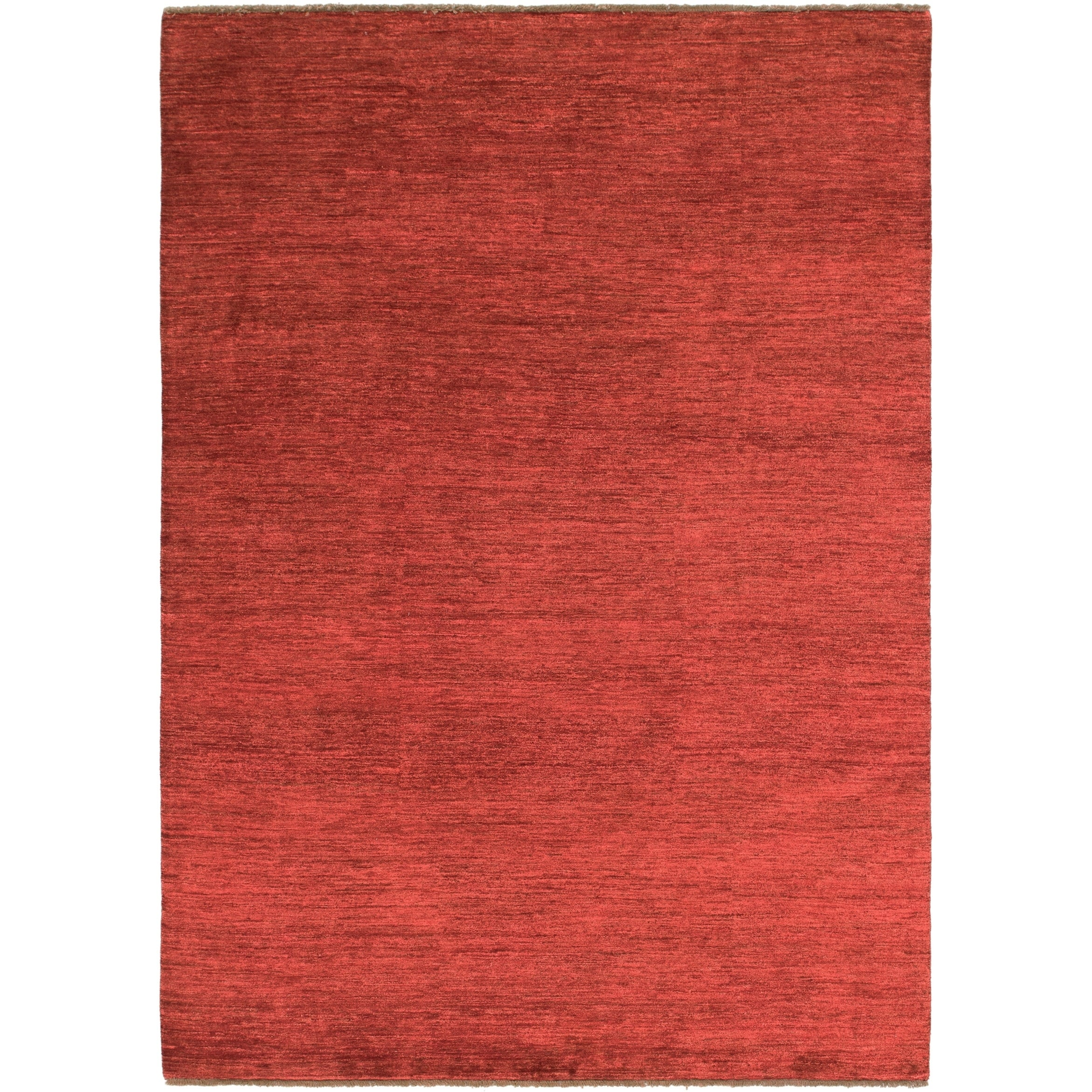 Hand Knotted Kashkuli Gabbeh Wool Area Rug - 6 9 x 9 6 (Red - 6 9 x 9 6)
