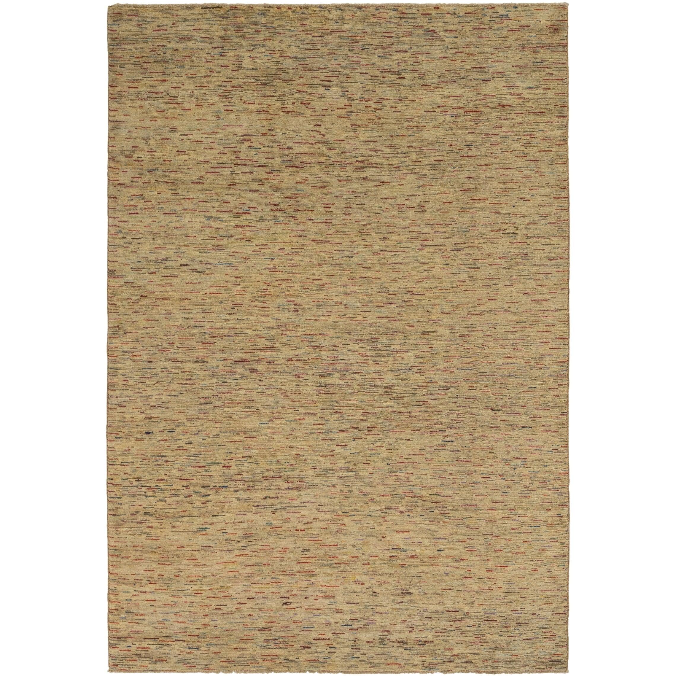 Hand Knotted Kashkuli Gabbeh Wool Area Rug - 6 7 x 9 6 (Multi - 6 7 x 9 6)