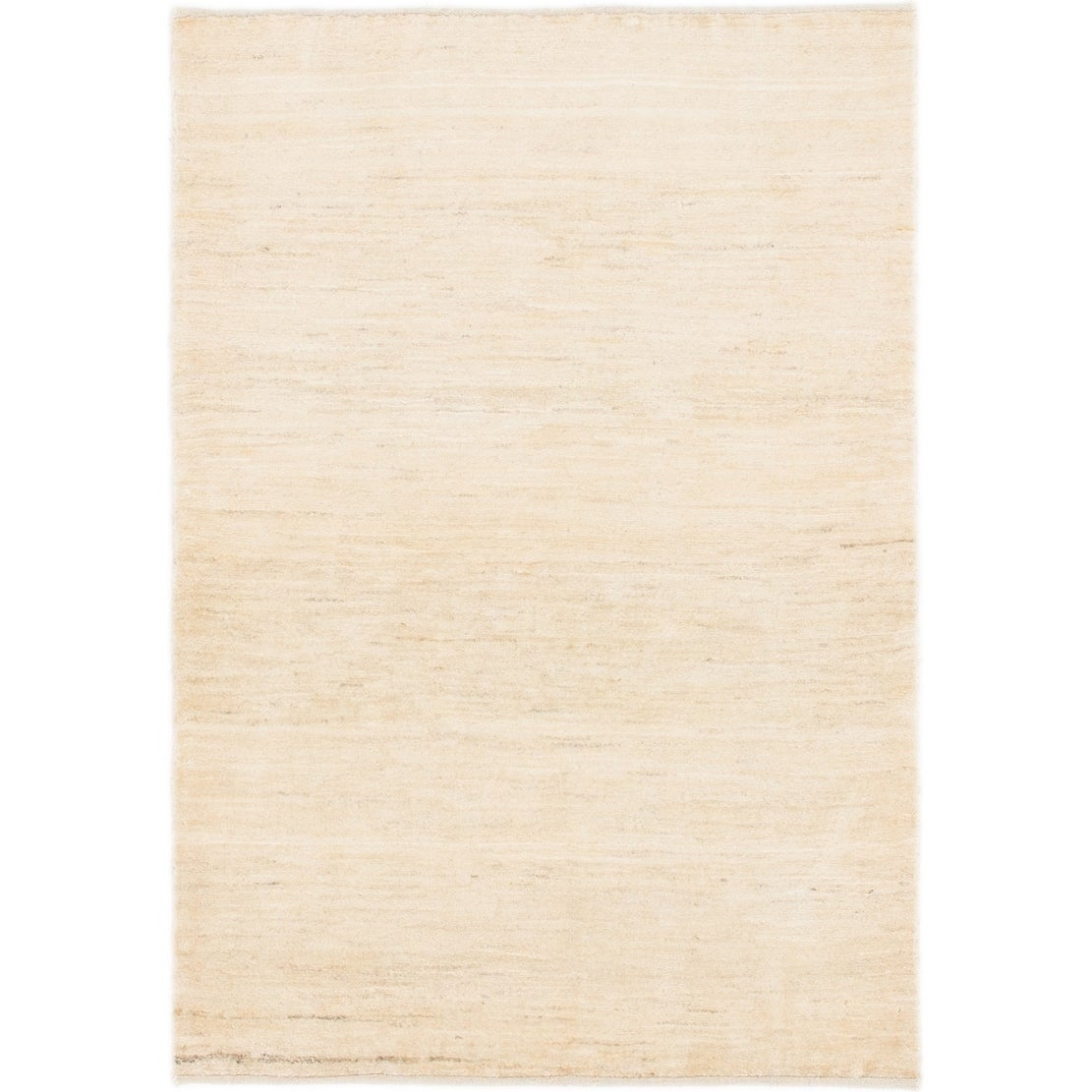 Hand Knotted Kashkuli Gabbeh Wool Area Rug - 3 3 x 4 9 (Cream - 3 3 x 4 9)