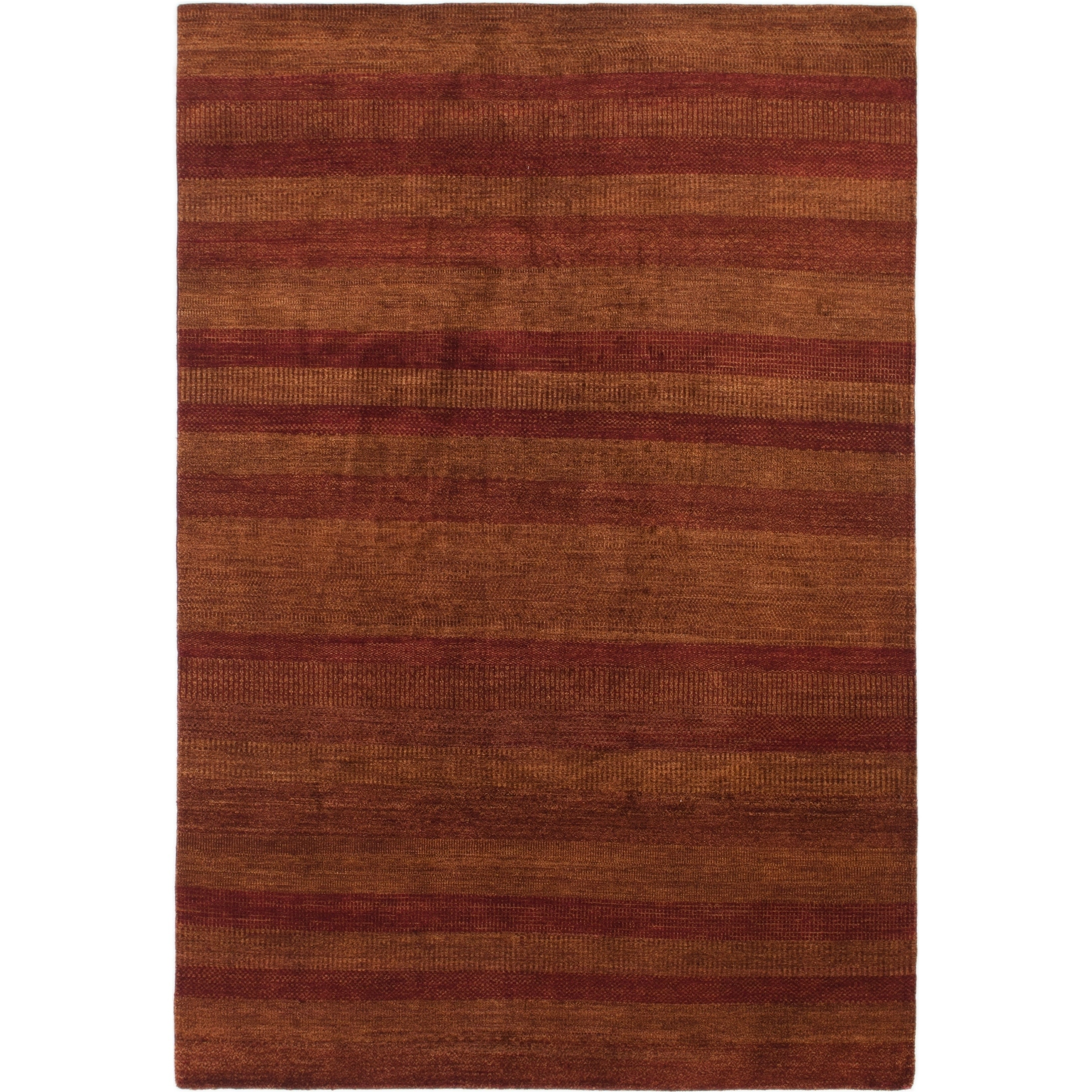 Hand Knotted Kashkuli Gabbeh Wool Area Rug - 6 6 x 9 9 (Red - 6 6 x 9 9)