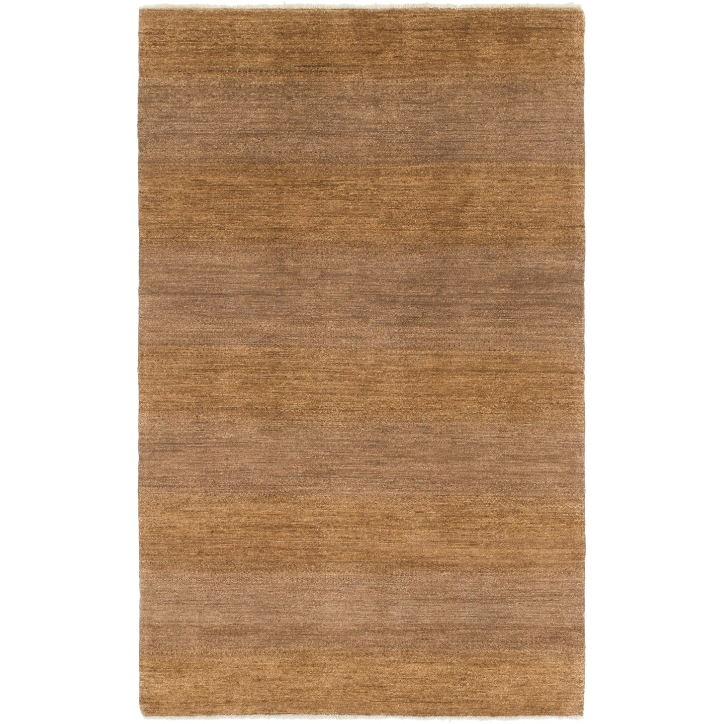 Hand Knotted Kashkuli Gabbeh Wool Area Rug - 4 2 x 6 8 (Brown - 4 2 x 6 8)