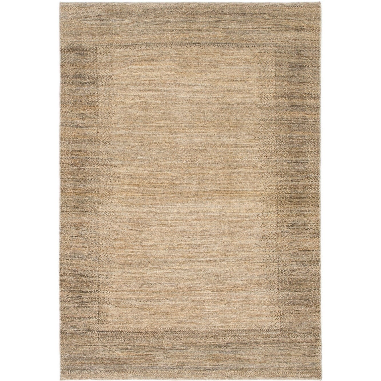 Hand Knotted Kashkuli Gabbeh Wool Area Rug - 4 x 5 8 (Taupe - 4 x 5 8)