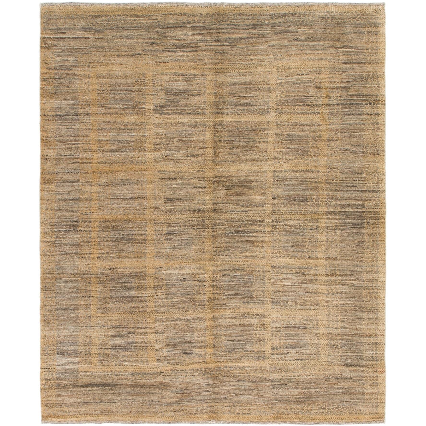 Hand Knotted Kashkuli Gabbeh Wool Area Rug - 5 x 6 4 (Olive - 5 x 6 4)