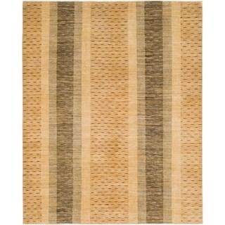 Hand Knotted Kashkuli Gabbeh Wool Area Rug - 6' 9 x 8' 4