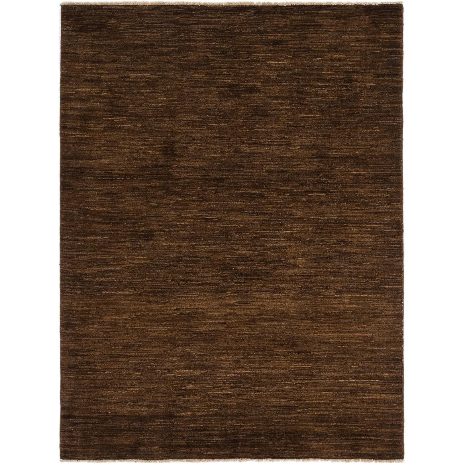 Hand Knotted Kashkuli Gabbeh Wool Area Rug - 5 x 6 5 (Brown - 5 x 6 5)
