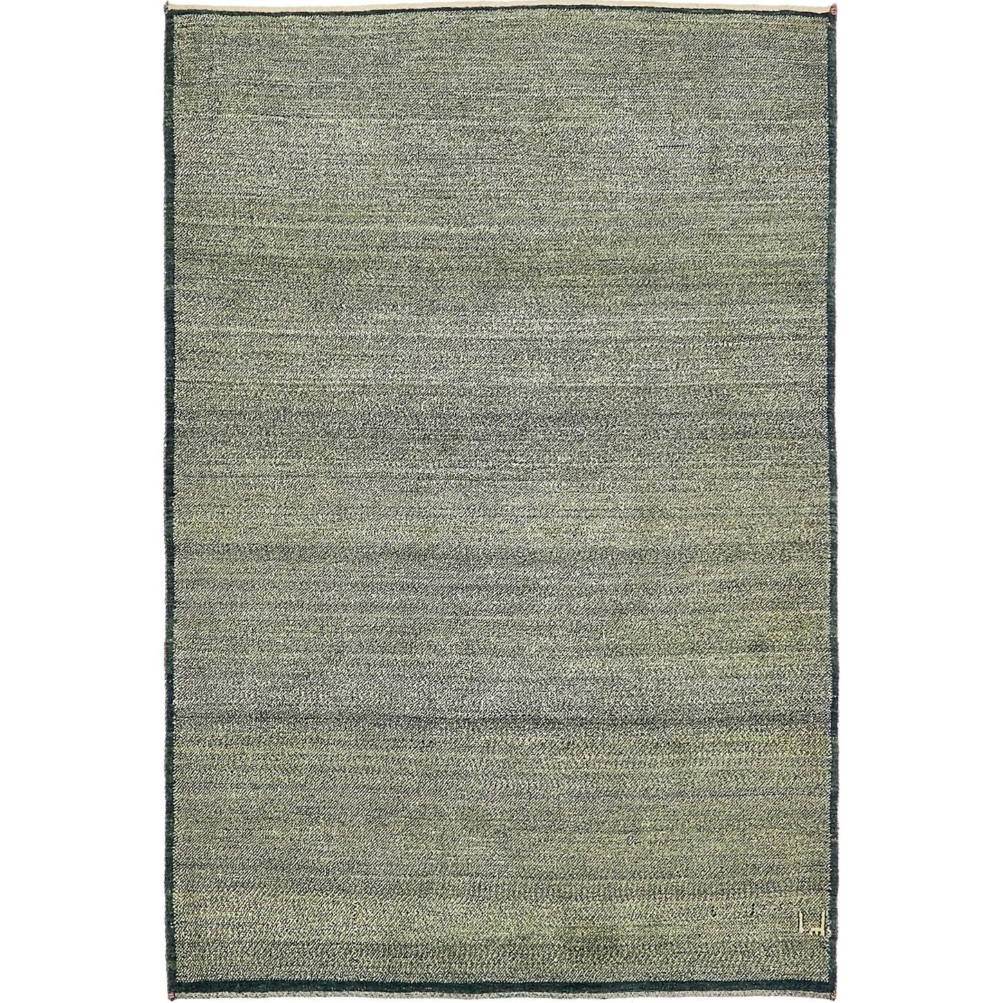 Hand Knotted Kashkuli Gabbeh Wool Area Rug - 4 x 5 11 (Green - 4 x 5 11)