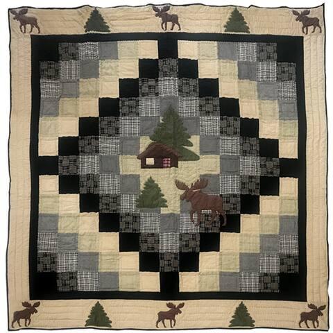 Moose Cabin Quilt