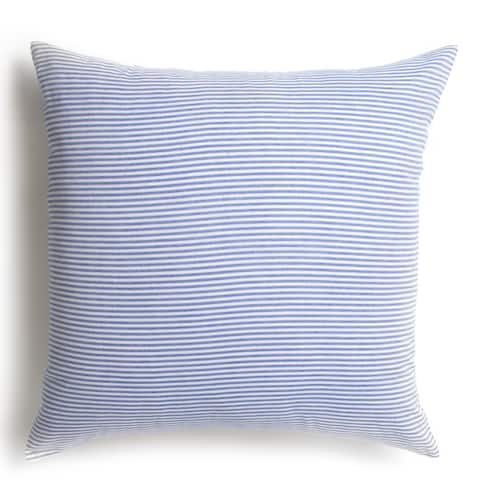 Blue Stripe Euro Sham