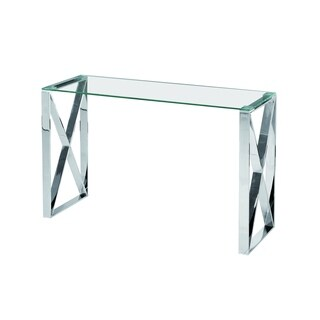 Best Quality Furniture Stainless Steel Glass Top Sofa Table