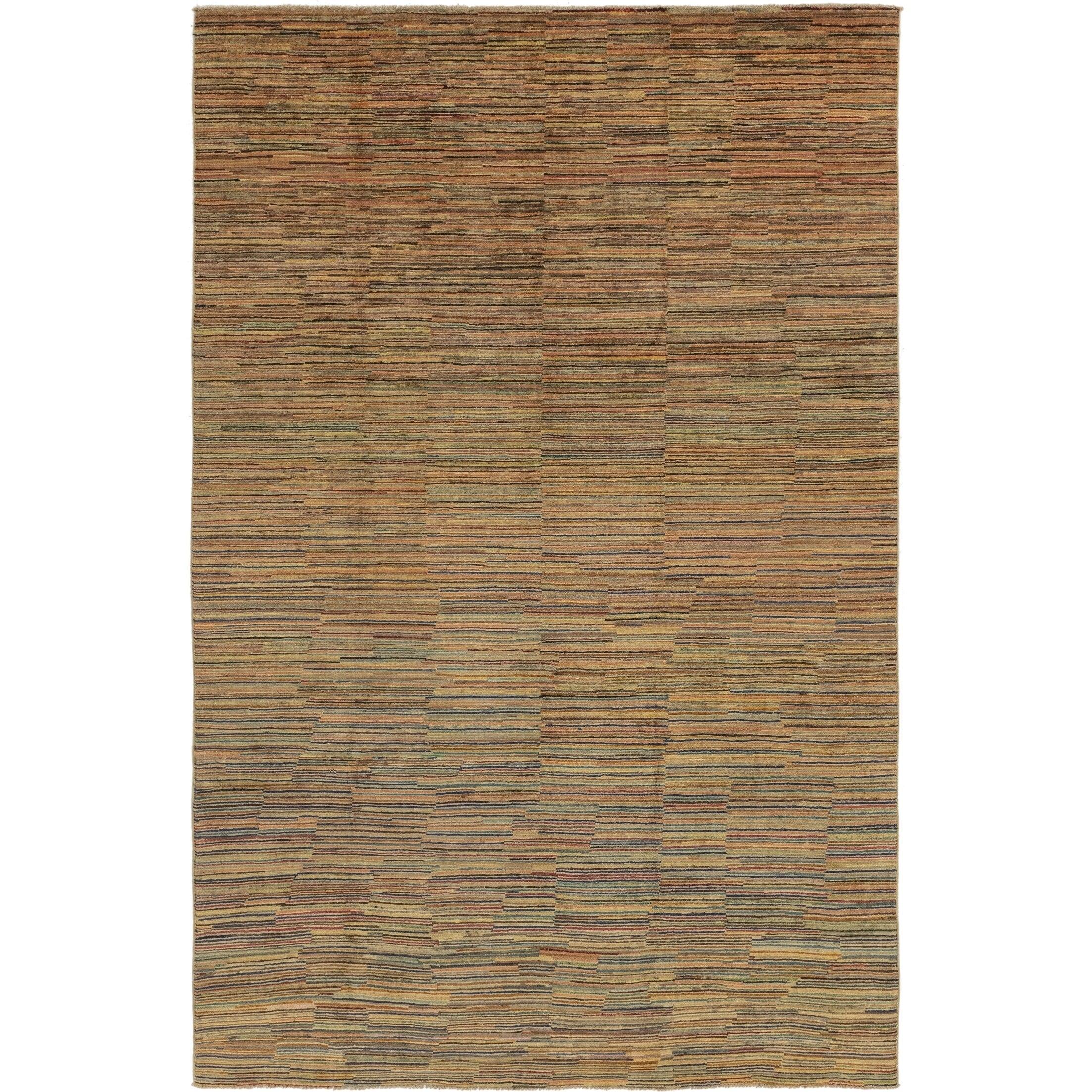 Hand Knotted Kashkuli Gabbeh Wool Area Rug - 6 5 x 9 10 (Multi - 6 5 x 9 10)