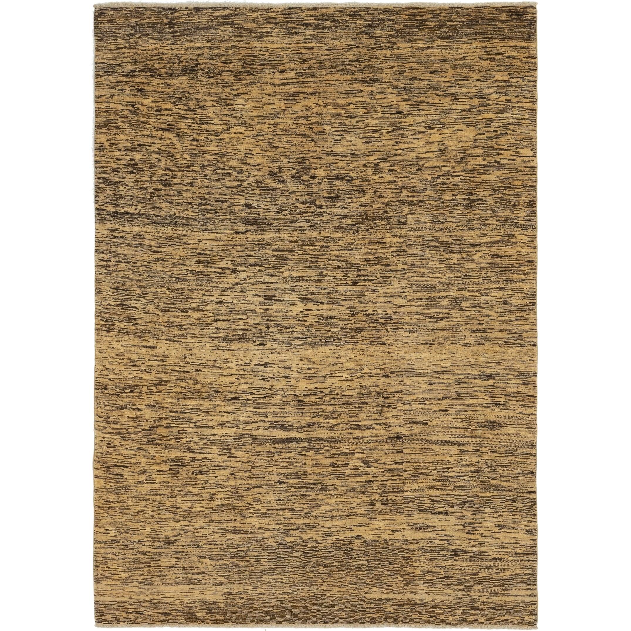 Hand Knotted Kashkuli Gabbeh Wool Area Rug - 6 4 x 8 8 (Multi - 6 4 x 8 8)