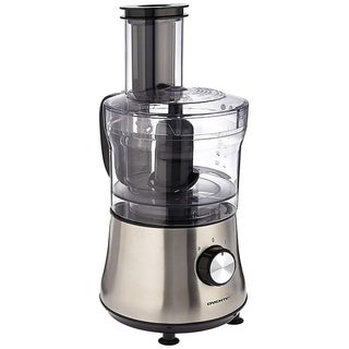 Ovente PF6007S Deluxe 8 Cup Multi-Function Food Processor with Blender