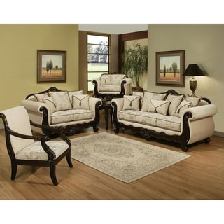 Gracewood Hollow Alumit 2-piece Large Beige Sofa and Loveseat Set
