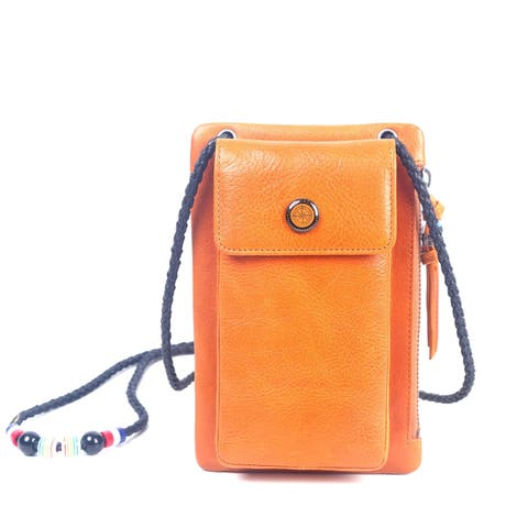 Old Trend Genuine Leather Rillet Wallet-Crossbody