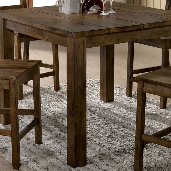 Amazing Shop Carbon Loft Bourdain Rustic Counter Height Table Free Caraccident5 Cool Chair Designs And Ideas Caraccident5Info