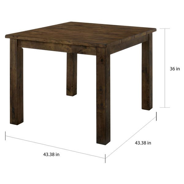 Admirable Shop Carbon Loft Bourdain Rustic Counter Height Table Free Caraccident5 Cool Chair Designs And Ideas Caraccident5Info