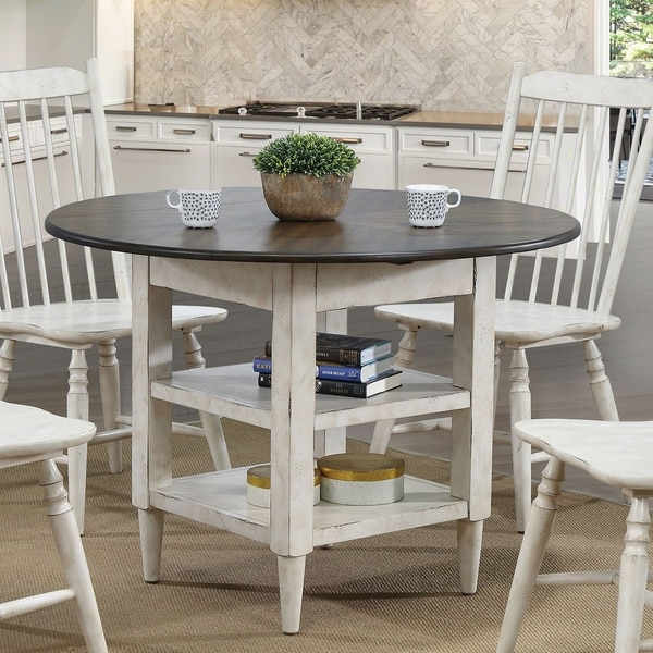 White Kitchen Tables For Sale: Shop Furniture Of America Darion Rustic Antique White