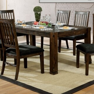 Carbon Loft Sawalha Rustic 72-inch Dining Table
