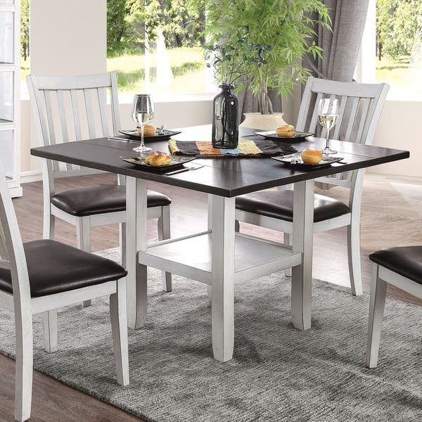 Shop The Gray Barn Doolittle Espresso And White Expandable Dining Table On Sale Overstock 23570113,Golden Girls Home Floor Plan