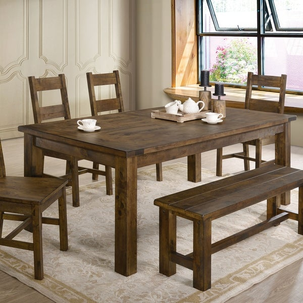 Carbon Loft Glamdring Rustic 79-inch Dining Table. Opens flyout.