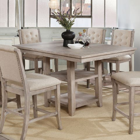 The Gray Barn Windswept Rustic 60-inch Counter Height Table