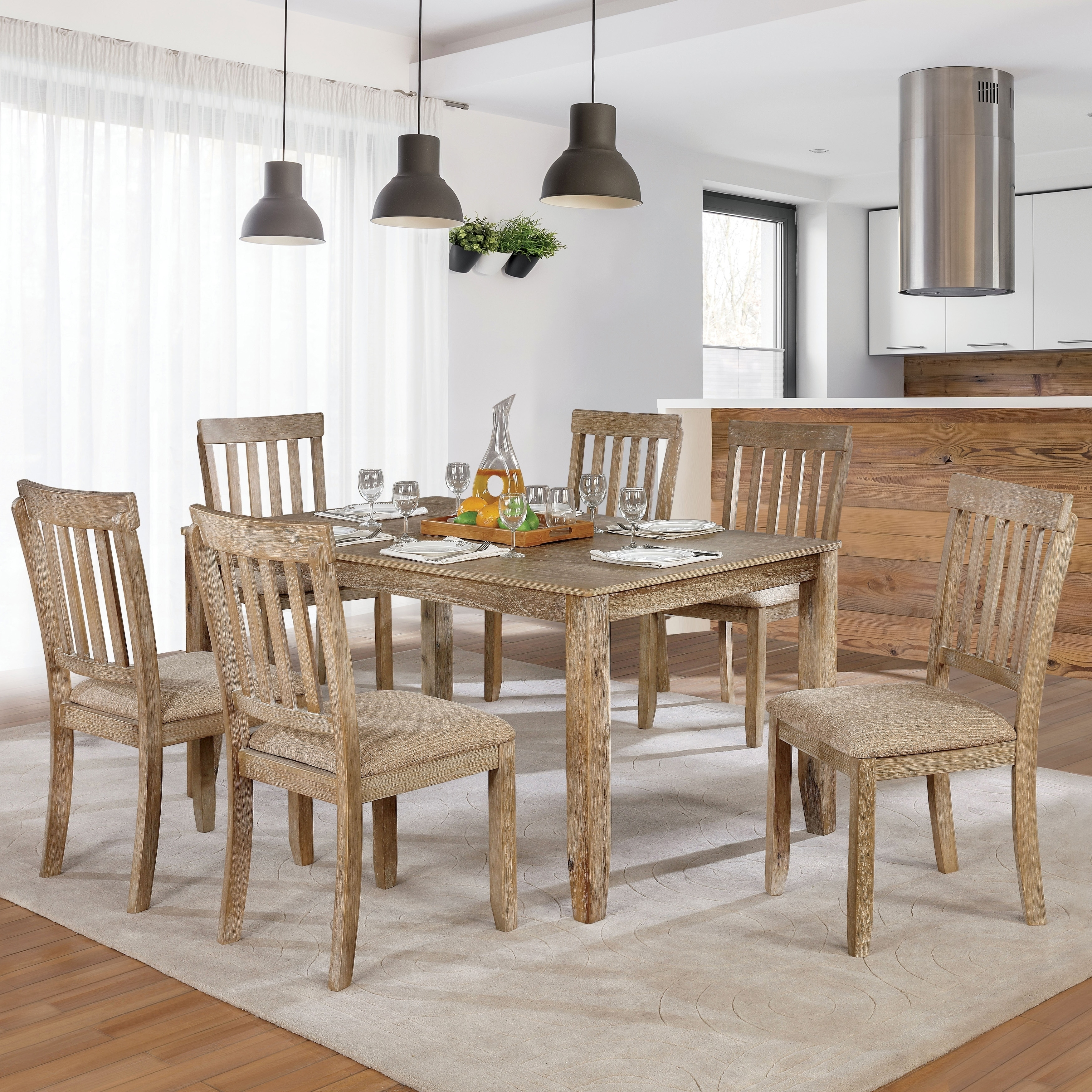 The Gray Barn Summerside Rustic Farmhouse 7 Piece Dining Set On Sale Overstock 23570148