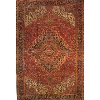 """Pasargad DC Persian Heriz Family Hand-Knotted - 11'4"""" X"""