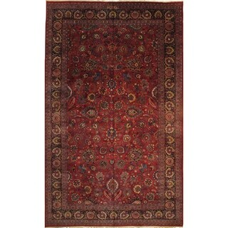 """Pasargad DC Persian Mashad Hand Knotted Rug - 10'2"""" X 16'8"""""""