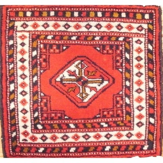 """Pasargad DC Hand-Knotted Torkaman Area Rug - 1'5""""x1'5"""""""