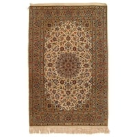 """Pasargad Persian Hand-Knotted Rug - 4'8"""" X 7'"""