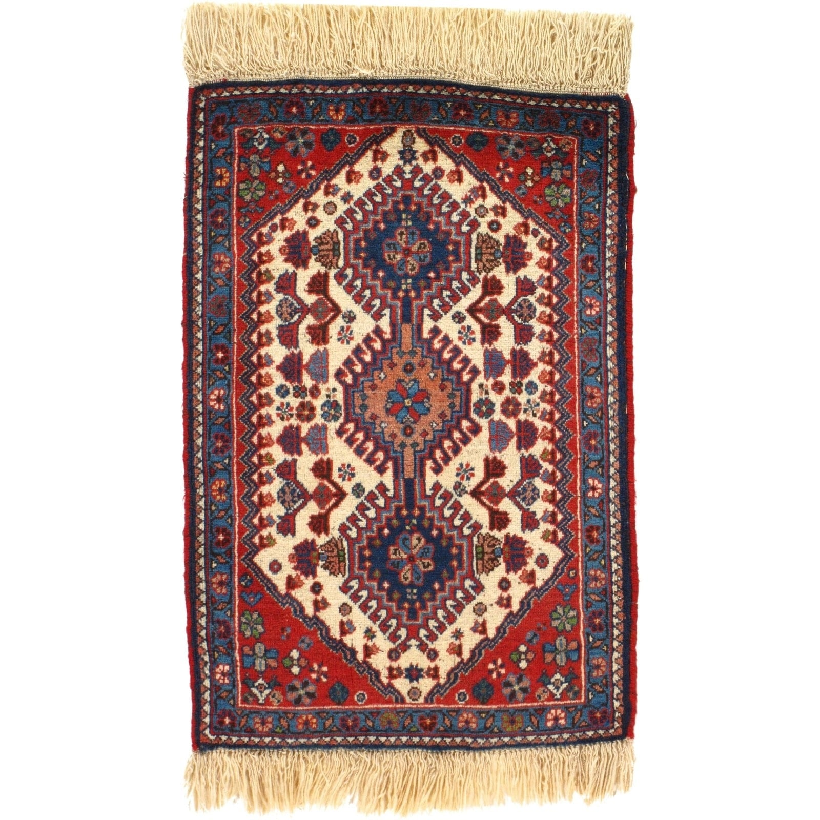 Pasargad DC Hand-Knotted Persian Tribal Rug - 110 X 211 (RUST)
