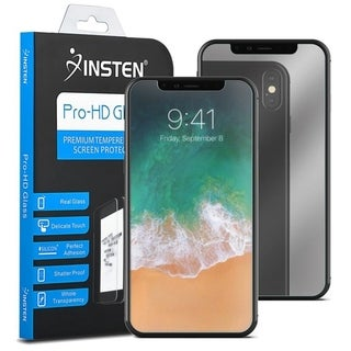 INSTEN Mirror Tempered Glass Screen Protector for Apple iPhone X/ iPhone XS