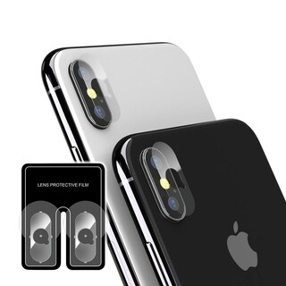 INSTEN Clear Camera Lens Screen Protector for Apple iPhone X/ iPhone XS/ iPhone XS Max (Pack of 2)