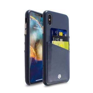 Cobble Pro Premium Protective Leather Case Back Cover for Apple iPhone XS Max