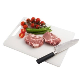 INNOKA Non-Slip Anti-Bacteria Hanging Kitchen Cutting Board with Juice Groove (FDA Approved)
