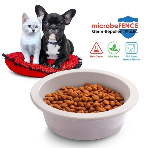 Shop Fluffy Paws Durable BPA-Free Pet Food Feeder Water