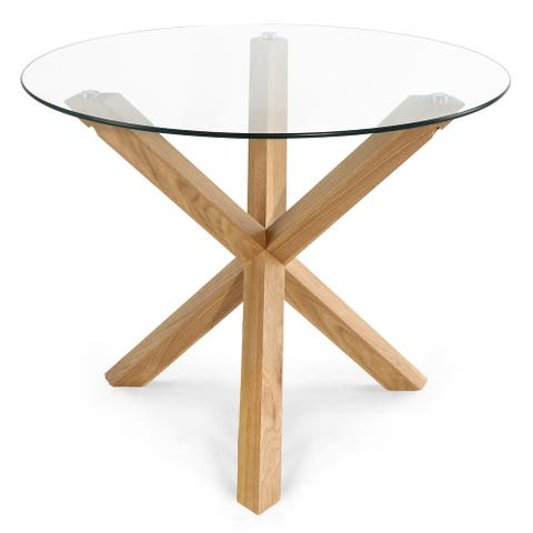Poly and Bark Kennedy 37.4 inch Round Dining Table