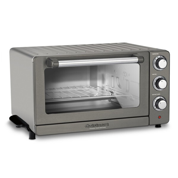 Shop Cuisinart Tob 60n1bksfr Refurbished Toaster Oven Broiler With Convection Black Stainless Free Shipping Today Overstock 23571716
